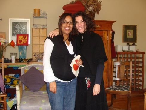 Karen and I...