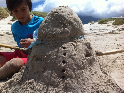 Building sandmen